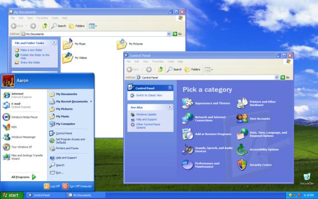 Windows XP- History
