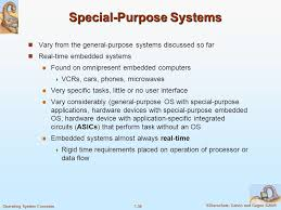 What is Special Purpose System?