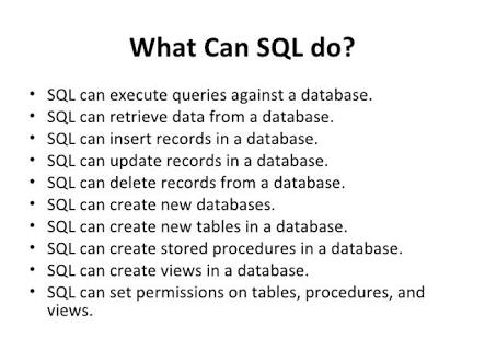 Overview of the SQL Query Language