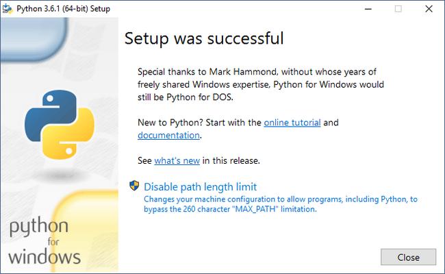 Python Environment Setup