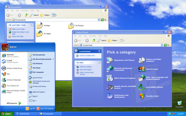 Windows XP- History