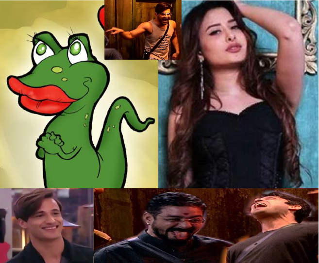 Hindustani Bhau sort video on mahira vs lizard