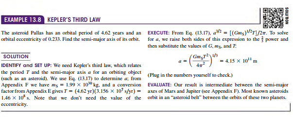 Kepler's Laws (firsts, second, third laws) and the Motion of planets
