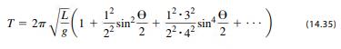 The simple Pendulum
