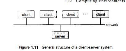Computing Environments- Traditional Computing, Client-Server Computing, Peer-to-Peer Computing, Web-Based Computing