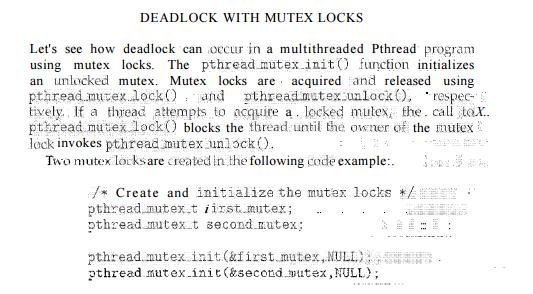 Deadlock Characteristics