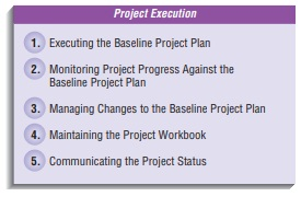 Executing the Project-Managing the Information Systems Project