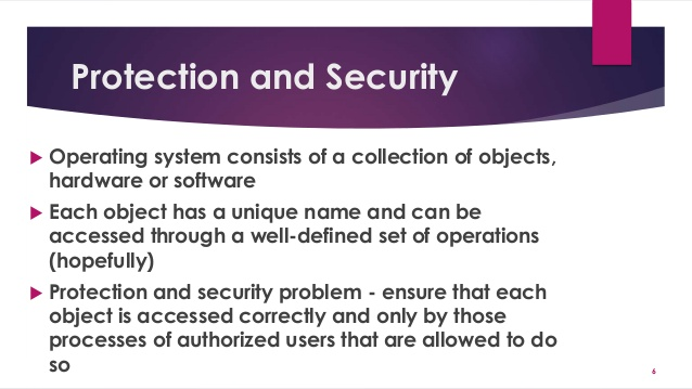 Introduction to Protection and Security