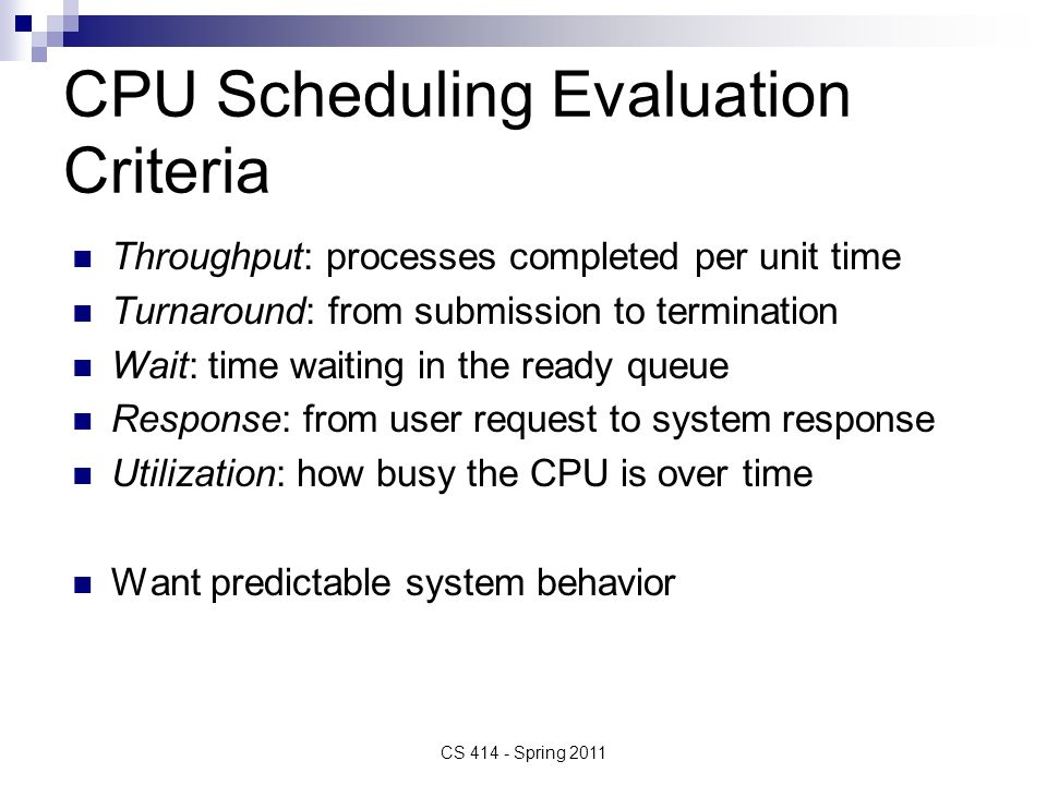 How is CPU Scheduling done in Multimedia systems?